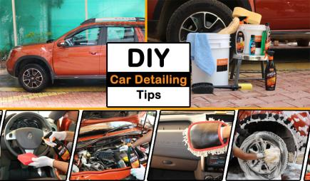 DIY CAR DETAILING TIPS